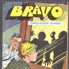 Tebeos: BRAVO PUBLICACION JUVENIL INSPECTOR DAN LA TORRE DEL SILENCIO Nº5. Lote 12570060
