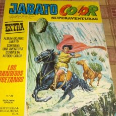 Tebeos: JABATO COLOR EXTRA ALBUM AMARILLO 2ª ÉPOCA Nº 29. BRUGUERA 1976. 50 PTS. .. Lote 12825005