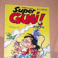 Tebeos: SUPER GUAI Nº 10. EDICIONES B, 1991. PULGARCITO DE JAN, TETE COHETE DE IBÁÑEZ, ROBIN ROBOT Y MÁS +++. Lote 24383250