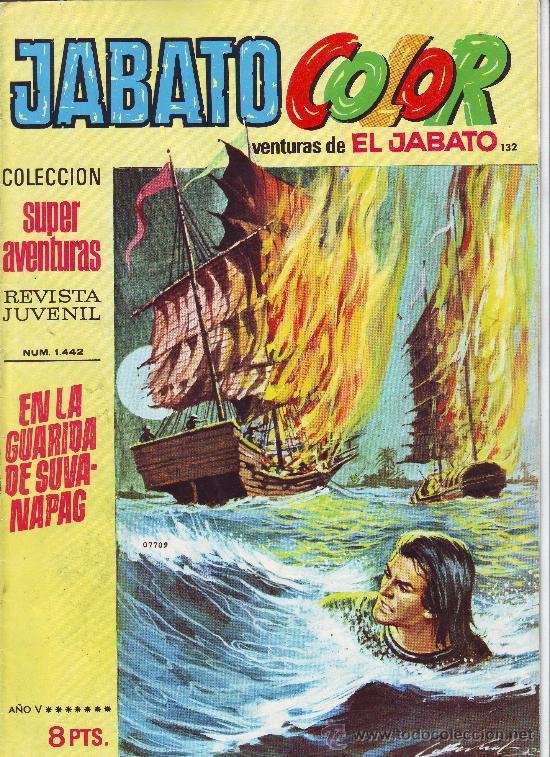 JABATO COLOR Nº 132 (Tebeos y Comics - Bruguera - Jabato)