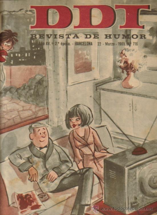 DDT REVISTA DE HUMOR 2ª EPOCA ( BRUGUERA) LOTE (Tebeos y Comics - Bruguera - DDT)