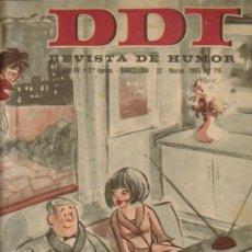 Tebeos: DDT REVISTA DE HUMOR 2ª EPOCA ( BRUGUERA) LOTE . Lote 26319307