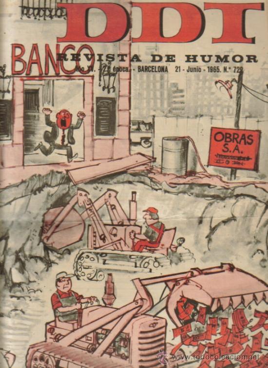 Tebeos: DDT REVISTA DE HUMOR 2ª EPOCA ( BRUGUERA) LOTE - Foto 3 - 26319307