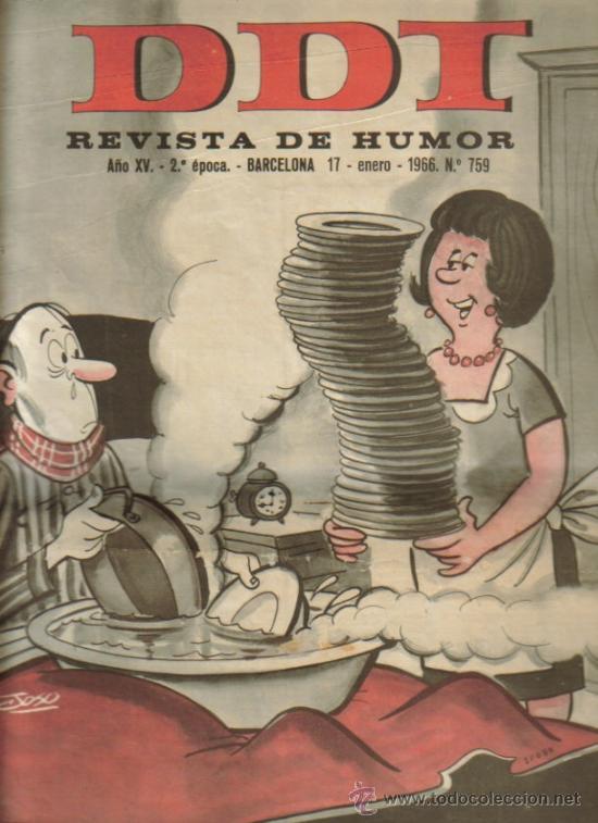 Tebeos: DDT REVISTA DE HUMOR 2ª EPOCA ( BRUGUERA) LOTE - Foto 5 - 26319307