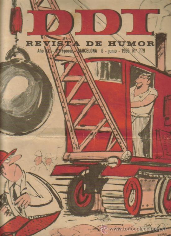 Tebeos: DDT REVISTA DE HUMOR 2ª EPOCA ( BRUGUERA) LOTE - Foto 6 - 26319307