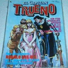 Tebeos: EL CAPITAN TRUENO REVISTA Nº 6 CONSERVA EL Nº 1 DE EL CAPITAN TRUENO EN SU FUNDA ORIGINAL. Lote 26050058