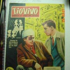 Tebeos: 8232 TIOVIVO SEMANARIO DE HUMOR PARA MAYORES - AÑO 1958 Nº 73 COSAS&CURIOSAS. Lote 13033647