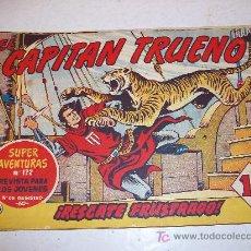 Tebeos: EDITORIAL BRUGUERA: EL CAPITAN TRUENO (ORIGINAL), Nº 145. Lote 13197108