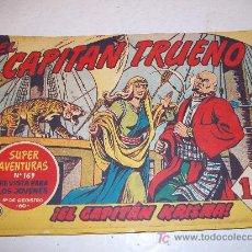 Tebeos: EDITORIAL BRUGUERA: EL CAPITAN TRUENO (ORIGINAL), Nº 144. Lote 13197121