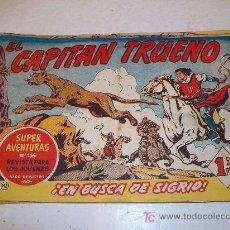 Tebeos: EDITORIAL BRUGUERA: EL CAPITAN TRUENO (ORIGINAL), Nº 142. Lote 13197140