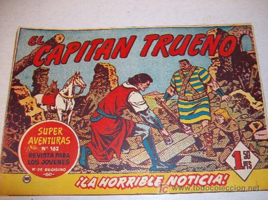 EDITORIAL BRUGUERA: EL CAPITAN TRUENO (ORIGINAL), Nº 141 (Tebeos y Comics - Bruguera - Capitán Trueno)