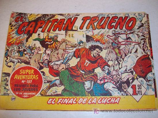 EDITORIAL BRUGUERA: EL CAPITAN TRUENO (ORIGINAL), Nº 139 (Tebeos y Comics - Bruguera - Capitán Trueno)