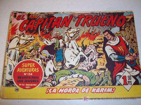 EDITORIAL BRUGUERA: EL CAPITAN TRUENO (ORIGINAL), Nº 138 (Tebeos y Comics - Bruguera - Capitán Trueno)