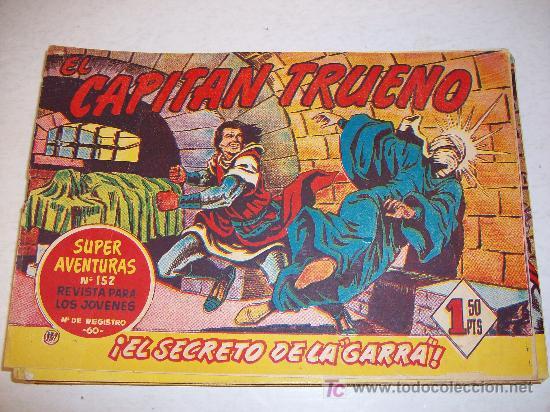 EDITORIAL BRUGUERA: EL CAPITAN TRUENO (ORIGINAL), Nº 137 (Tebeos y Comics - Bruguera - Capitán Trueno)