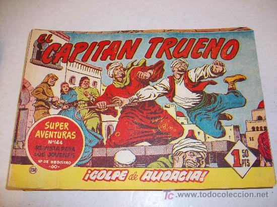EDITORIAL BRUGUERA: EL CAPITAN TRUENO (ORIGINAL), Nº 134 (Tebeos y Comics - Bruguera - Capitán Trueno)