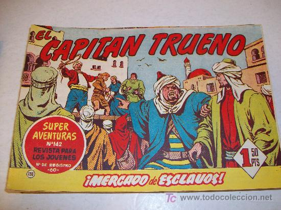 EDITORIAL BRUGUERA: EL CAPITAN TRUENO (ORIGINAL), Nº 133 (Tebeos y Comics - Bruguera - Capitán Trueno)