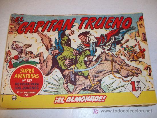 EDITORIAL BRUGUERA: EL CAPITAN TRUENO (ORIGINAL), Nº 132 (Tebeos y Comics - Bruguera - Capitán Trueno)