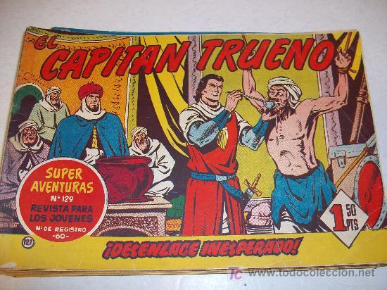 EDITORIAL BRUGUERA: EL CAPITAN TRUENO (ORIGINAL), Nº 127 (Tebeos y Comics - Bruguera - Capitán Trueno)