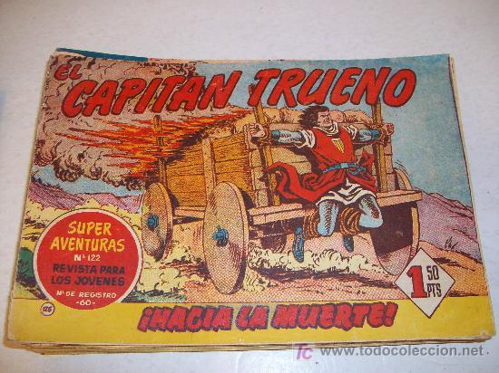 EDITORIAL BRUGUERA: EL CAPITAN TRUENO (ORIGINAL), Nº 125 (Tebeos y Comics - Bruguera - Capitán Trueno)