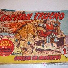 Tebeos: EDITORIAL BRUGUERA: EL CAPITAN TRUENO (ORIGINAL), Nº 125. Lote 13197351