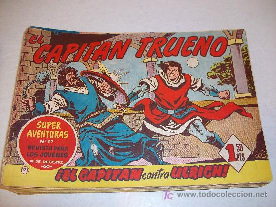 EDITORIAL BRUGUERA: EL CAPITAN TRUENO (ORIGINAL), Nº 123 (Tebeos y Comics - Bruguera - Capitán Trueno)