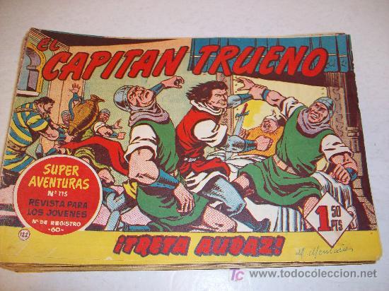 EDITORIAL BRUGUERA: EL CAPITAN TRUENO (ORIGINAL), Nº 122 (Tebeos y Comics - Bruguera - Capitán Trueno)