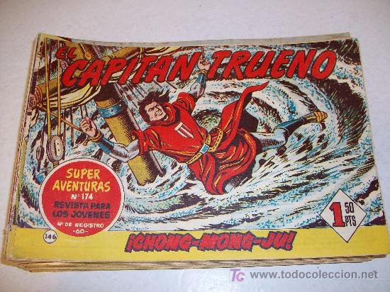 EDITORIAL BRUGUERA: EL CAPITAN TRUENO (ORIGINAL), Nº 146 (Tebeos y Comics - Bruguera - Capitán Trueno)