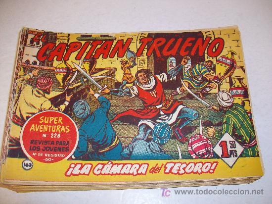 EDITORIAL BRUGUERA: EL CAPITAN TRUENO (ORIGINAL), Nº 163 (Tebeos y Comics - Bruguera - Capitán Trueno)