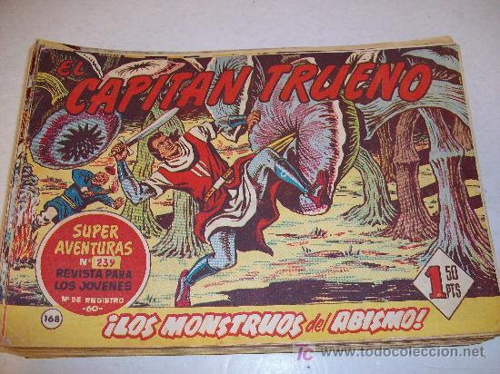 EDITORIAL BRUGUERA: EL CAPITAN TRUENO (ORIGINAL), Nº 168 (Tebeos y Comics - Bruguera - Capitán Trueno)
