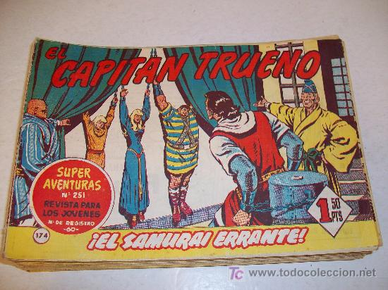 EDITORIAL BRUGUERA: EL CAPITAN TRUENO (ORIGINAL), Nº 174 (Tebeos y Comics - Bruguera - Capitán Trueno)