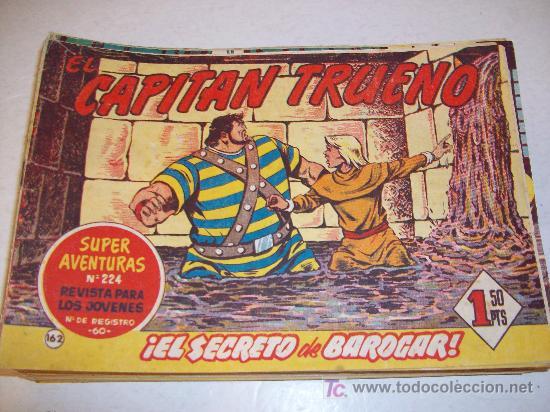 EDITORIAL BRUGUERA: EL CAPITAN TRUENO (ORIGINAL), Nº 162 (Tebeos y Comics - Bruguera - Capitán Trueno)