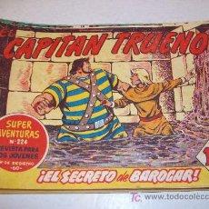 Tebeos: EDITORIAL BRUGUERA: EL CAPITAN TRUENO (ORIGINAL), Nº 162. Lote 13219109
