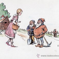 Tebeos: TARJETA DEL DIBUJANTE DEL CAPITÁN TRUENO: AMBRÓS (FIRMANDO COMO AMBROSIO). Lote 37364747
