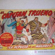 Tebeos - Editorial Bruguera: EL CAPITAN TRUENO (original), nº 243 - 13275519