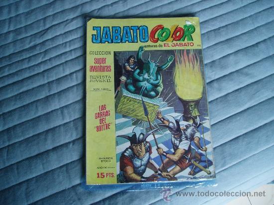 JABATO COLOR SEGUNDA EPOCA 132 (Tebeos y Comics - Bruguera - Jabato)