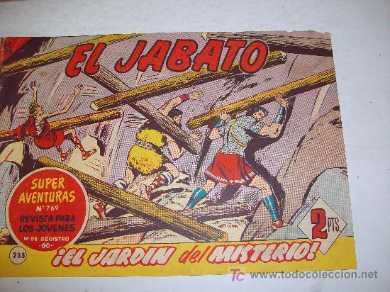 EDITORIAL BRUGUERA: EL JABATO (ORIGINAL), Nº 255 (Tebeos y Comics - Bruguera - Jabato)