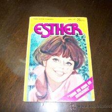 Tebeos: ESTHER - AÑO 1-Nº1 - 1982 -EDITORIAL BRUGUERA. Lote 192118598