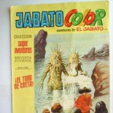 Tebeos: SUPER AVENTURAS - JABATO COLOR- N.176 --1973. Lote 25940315