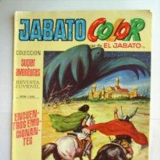 Tebeos: SUPER AVENTURAS - JABATO COLOR-N-121--1972. Lote 21604666