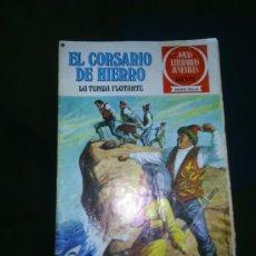 Tebeos: M69 JOYAS LITERARIAS JUVENILES EL CORSARIO DE HIERRO NUMERO 16. Lote 13768065