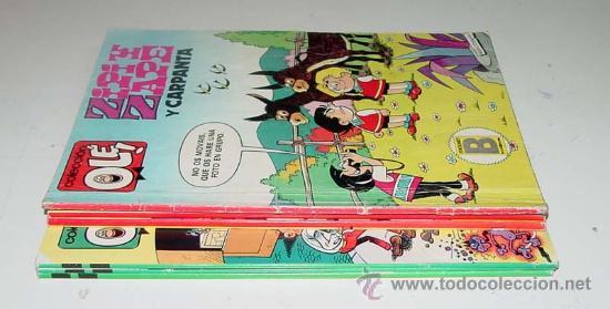LOTE DE 6 TEBEOS COLECCION OLE - 227-M24, 87-M15, 246-Z10, 134-M141, 202-M134, 205-M137 - ED. BRUGUE (Tebeos y Comics - Bruguera - Ole)