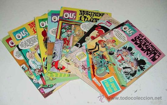 LOTE DE 7 TEBEOS OLE - NUM. (99-M65, 153-M83, 26-Z28, 168-Z35, 217-M119, 5-SL, 275-I8) - ED. BRUGUER (Tebeos y Comics - Bruguera - Ole)