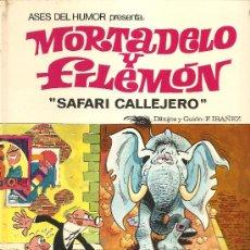 Tebeos: ASES DEL HUMOR Nº 3 - MORTADELO Y FILEMÓN – SAFARI CALLEJERO - PRIMERA EDICIÓN 1970. Lote 27017295