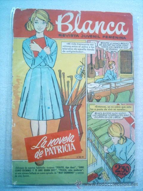 BLANCA REVISTA JUVENIL Nº 75 BRUGUERA 1963 (Tebeos y Comics - Bruguera - Otros)