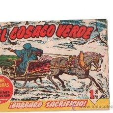Tebeos: EL COSACO VERDE Nº 59 DE BRUGUERA . Lote 27454029