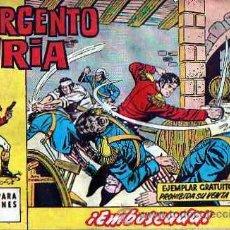 Tebeos: COLECCION COMPLETA EL SARGENTO FURIA DE EDITORIAL BRUGUERA 36 EJEMPLARES. Lote 14024992