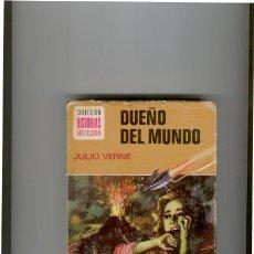 Tebeos: COLECCIÓN HISTORIAS SELECCIÓN-DUEÑO DEL MUNDO,DE JULIO VERNE. Lote 24986480