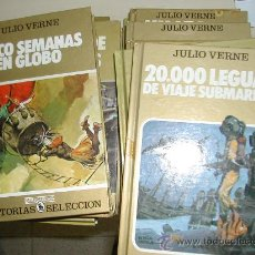 Tebeos: HISTORIAS SELECCION SERIE JULIO VERNE LOTE DE 10 O SUELTOS A ELEGIR BRUGUERA. Lote 54445336