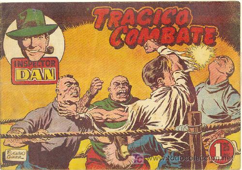 INSPECTOR DAN ORIGINAL Nº 16 (Tebeos y Comics - Bruguera - Inspector Dan)