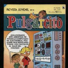 Tebeos: PULGARCITO.BRUGUERA 1986 Nº 10. Lote 14478406